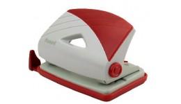 Діркопробивач AXENT 3716-06 пластик 16арк. сіро-червоний Duoton (1/12)