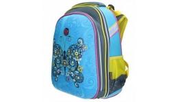 Портфель шкільний каркасний CLASS 9719 2відділ.  Butterfly  39*28*21см SchoolCase (1/4)