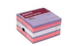 Папір клейкий ECONOMIX 20932-13 д/нотаток 75*75мм салатовий 100арк (1/12)