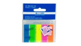 Стікер-закладки ECONOMIX 20935 паперові клейкі 5кол по 30арк НЕОН (1/20)