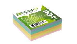Блок паперу Fresh Up FR-3411 для нотаток класика не клеєний 80х80х40мм (1/24/2304)