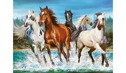 Пазл Касторленд  200 (2056) Коні 40*29 см