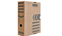 Архівний бокс BUROMAX 3261-34 картон. 352*250*100мм  КРАФТ (1/10)