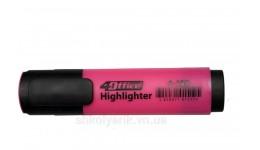 Текст-маркер 4OFICE 4-109-12 рожевий 1-5мм (10)