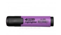 Текст-маркер 4OFICE 4-109-07 фіолет. 1-5мм (10)