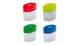 Точилка BUROMAX 4752 пластик. з контейнером 1 відділ. (12)