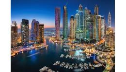 Пазл Касторленд 1500 (1813) Дубай будинки  68*47 см
