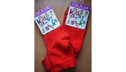 Шкарпетки дитячі KSL-001 calzino-red 22 - 71% бавовна  27% поліамід  2% еластан