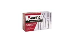 Скріпки AXENT 4103 нікельовані 78мм 100шт (1)