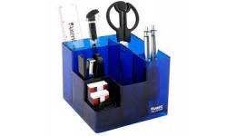 Набір настільний AXENT 2106-02 Cube синій в коробці (1)
