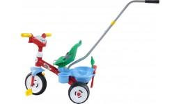 Велосипед 3-ри колісний  Бебі Трайк  з ручкою  звуковим сигналом і ремінцем + набір (2 елементи