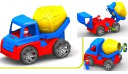 Автомобіль  М4  бетономешалка 38 5*15 5*25 5 (Оріон)