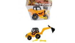 іграшка-конструктор «Трактор-екскаватор» 30.008  ТМ Toys Plast