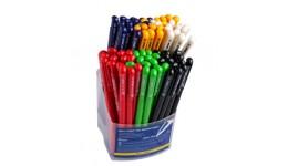 Ручка кульк. автомат. BUROMAX 8205-02 чорна 0 7мм BASE (80)