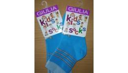 Шкарпетки дитячі KSL-002 calzino-blue 20 - 68% бавовна  29% поліамід  3% еластан