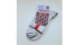 Шкарпетки жіночі р.21-23 демі  колір СВ.СІРИЙ 80%бавовна  18%поліамід  2%еластан