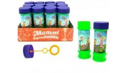 Мильні бульбашки 1-02 Premium 60 мл. 12 шт коробочка