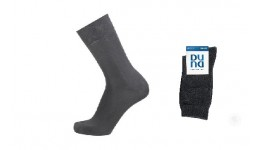 Шкарпетки жіночі DUNA 317  23-25 світло-сірі (Євроколекція) 80%бавовна  18%поліамід  2%еластан