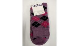 Шкарпетки жіночі DUNA 315  21-23 темно-бузкові 70%бавовна  28%поліамід  2%еластан