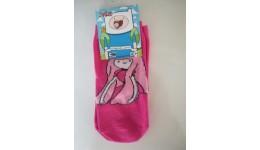 Дитячі шкарпетки DUNA 475 демі  12-14 малинові 73%бавовна  25%поліамід  2%еластан