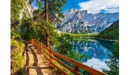 Пазл Касторленд 1000 (4109) Озеро Браєс  Італія  68*47 см