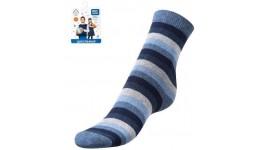 Дитячі шкарпетки для хлопчиків р.25-27 мікс - 80%бав.18%ПА.2%еластан.