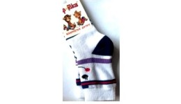 Шкарпетки дитячі р.14-16 білий ТМ Африка бавовна 80% поліестер 18% еластан 2%