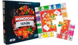 Гра STRATEG  7008 настільна LUX  Монополія України  34х28 8х5 2(у/р)