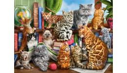 Пазл Касторленд 2000(726) Коти  92*68 см
