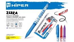 Ручка гелева HIPER Ace Gel HG-125 0.6 червона (10/100)