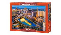 Пазл Касторленд 1500 (1882) Неймовірний Лас Вегас 68*47 см