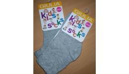 Шкарпетки дитячі KSL  MELANGE calzino-  grey melange 18 - 74% бавовна  24% поліамід  2%еласта