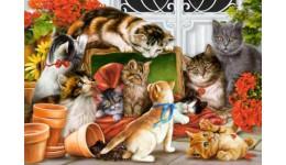 Пазл Касторленд 1500 (1639) Котенята  68*47 см