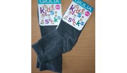 Шкарпетки дитячі KSL  MELANGE calzino- deep grey melange 18 - 74%бавовна  24%поліамід  2%елас
