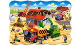 Пазл Касторленд  30 (686) Будівництво  32*23 см