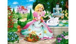 Пазл Касторленд 60(066056) Принцеса з лебедем 32*23 см