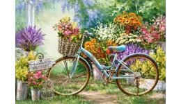Пазл Касторленд 1000 (3898) Ринок квітів  68*47 см
