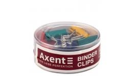 Біндер кольоровий  Axent 4409-A 19мм туба 12шт асорті