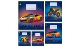 Зошит 12 клітинка  Disney 11901 Frozen Холодне серце ТЕТРАДА (25/250)
