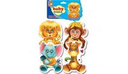 Бебі пазли 1106-80 Зоопарк (Vladi Toys)