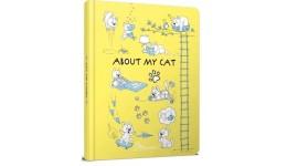 Альбом друзів : About my cat  1 (жовтий) (у)Т