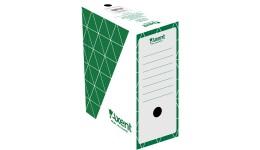 Архівний бокс AXENT 1733-04 картон. 350*255*150мм зелений (1/10)