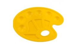 Палітра Zibi 6920-08 овальна пластикова жовта (5)