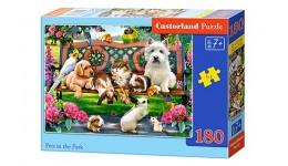 Пазл Касторленд 180(444) Собаки в парку   32*23 см