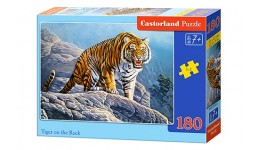 Пазл Касторленд 180(451) Тигр на скалах   32*23 см