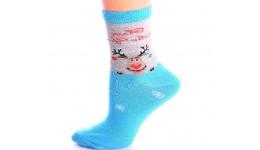 Шкарпетки жіночі 36-38 calzino-blue WSL-04 - 74% бавовна  24% поліамід  2% еластан