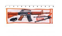 Автомат на пістонах  іграшковий з ніжками і гранатою М210