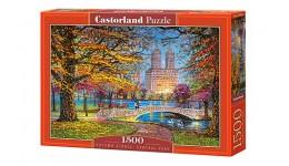 Пазл Касторленд 1500 (1844) Осенський сторол центральний парк   68*47 см