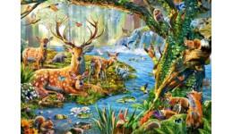 Пазл Касторленд  500 (2929) Лісове життя  47*33 см