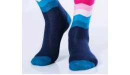 Шкарпетки чоловічі 39-42 calzino-navy MSL-016 - 68% бавовна  30% поліамід  2% еластан